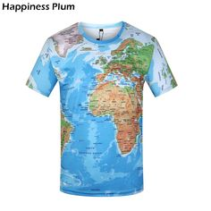 9953d5eb80 Cheap t shirt men, Buy Quality t shirt directly from China brand t shirt men  Suppliers: KYKU Brand T Shirt Men World Map T-shirt Funny T Shirts Male  2017 ...