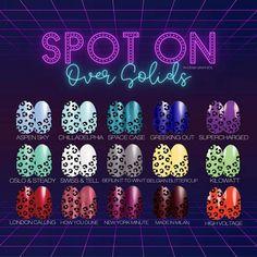 Nail Color Combos, Nail Colors, Nail Spot, Pedicure Colors, Neon Nights, Cat Nails, Nail Patterns, Diy Manicure, Color Street Nails