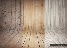 Free 3 Curved Wooden Backdrops Vol.2 #freebies