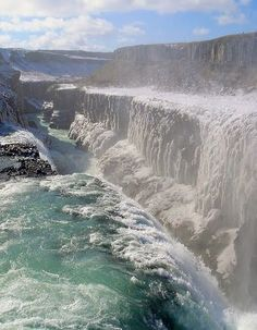 Gullfoss, Iceland - incredible, like endless Niagara Falls