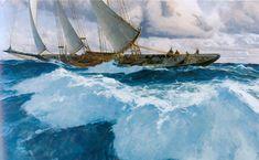Peintures Marines Célèbres | El Arte de Christopher Blossom