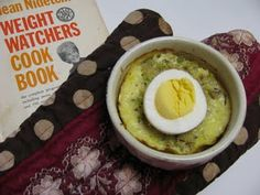 Fluffy Mackerel Pudding. Weight Watchers circa 1974.