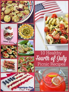 10 Healthy Fourth of July Recipes