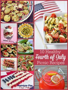 10 Healthy Fourth of July Recipes -- from @jolynneshane
