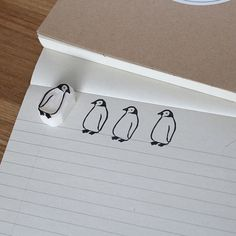 This stamp that will inspire you to send more letters. | 23 Adorable Penguin Products You Need In Your Life