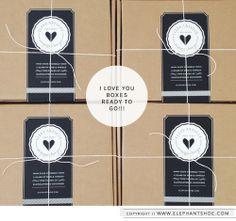 "January 2014 {OKAY LET'S DO THIS} ""I LOVE YOU"" Box"