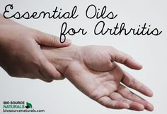Essential Oils for #Arthritis Pain. See how to use them and what to use where and when.