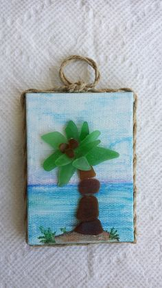 Another of my tiny sea glass creations