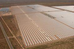 Sistemas de Generación de Energía Solar (SEGS, en inglés), es actualmente la planta de energía solar operativa más grande del mundo, situada en el Desierto de Mojave en California, Estados Unidos. Actualmente cuenta con una capacidad instalada de 354 MW y genera 662 GWh de energía al año.