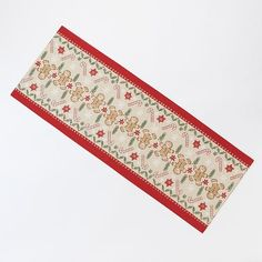 St. Nicholas Square® Gingerbread Table Runner - 13
