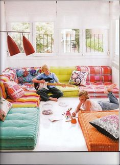 Roche Bobois Modular Couch Floor Cushions modern ideas for decorating kids rooms
