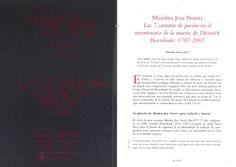 "Concierto nº 8 XLVI Semana de Música Religiosa de Cuenca 2007 Iglesia de la Merced""Membra Jesu Nostri"" de Buxtehude"