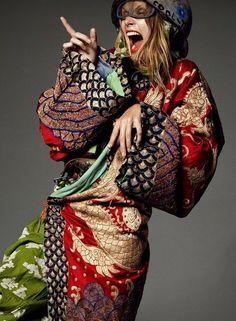Malgosia Bela by Aaron Ward for Lets Panic Magazine No.1 [Editorial] - Fashion Copious