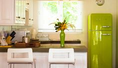 Mount Cinnamon: Each villa has a full kitchen, complete with a retro Smeg refrigerator.