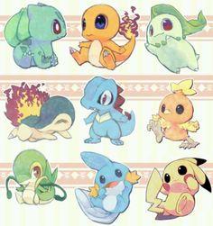Starter pokemon ^w^