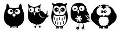 KLDezign SVG: Other owls