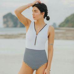 Warnen 2018 Strand Schwimmen Tragen Plus Size Bademode Einfarbig Badeanzug Fett Große Tasse Schwimmen Anzug Für Frauen Halter Top Bikini Beachwear Schwimmen