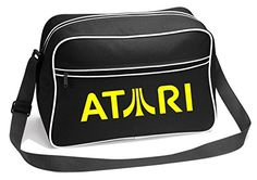 9245a3d82822 80s Bags at SimplyEighties.com. Atari Retro Design Messenger Shoulder Bag