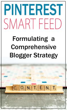 This is seriously informative info on the new Smart Feed and how to get it figured out! Social Media Tips, Social Media Marketing, Content Marketing, Pinterest Profile, Start Ups, Blog Planning, Pinterest For Business, Blogger Tips, Blogging For Beginners