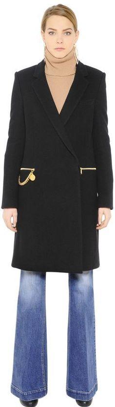 Stella McCartney Melton Wool Coat