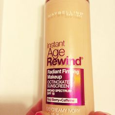 Makeup Monday: Maybelline's Instant Age Rewind Foundation | Adorkable Alli