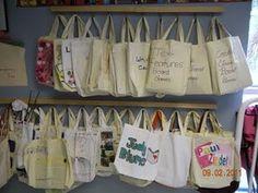 Literacy Center bags