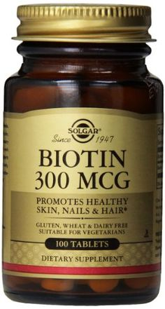 The Product Solgar Biotin 300 mcg Tablets – 100 tablets  Can Be Found At - http://vitamins-minerals-supplements.co.uk/product/solgar-biotin-300-mcg-tablets-100-tablets/
