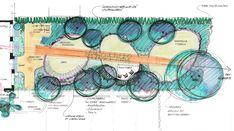 Afbeeldingsresultaat voor zelf een tuin ontwerpen Landscape Design Plans, Garden Planning, How To Plan, Horticulture, Garden Design, Yard Design