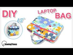 Como fazer pasta para notebook - passo a passo Laptop Diy, Sewing To Sell, Laptops For Sale, Small Sewing Projects, Laptop Accessories, Organizer, Bag Making, Purses And Bags, Pouch