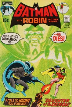 Among the most valuable Bronze Age comic books is Batman the first appearance of Ras al Ghul, with a classic cover by Neal Adams. Find out the comic book value for this issue here! Batman Begins, Batman And Superman, Batman Robin, Batman 1966, Batman Stuff, Spiderman, Dc Comics, Batman Comics, Batman Comic Books