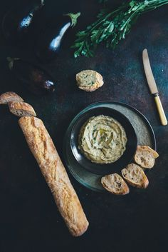 melitzanosalata, (greek eggplant dip) recipe.