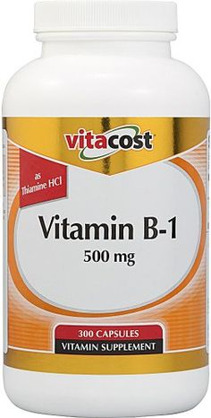 Vitacost Vitamin B-1 -- 500 mg - 300 Capsules * You can get additional details at the image link.