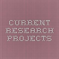 Department of Psychology Stanford University CURRENT RESEARCH PROJECTS