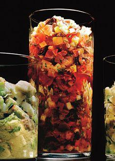 Gazpacho Salsa Recipe  at Epicurious.com