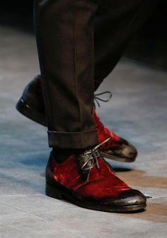 Zapatos de gamuza gastada, de Dolce & Gabbana