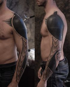 black_work_sleeve_tattoo.jpg 741×917 pixels