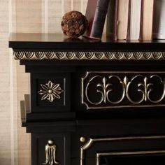 Southern Enterprises Grace 47 in. Freestanding Electric Fireplace in Black HD9465 at The Home Depot - Mobile