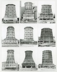 Bernd and Hilla Becher, Cooling Towers, 1972