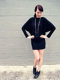 Batwing Dress (Tutorial!)
