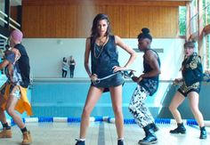 ALUNAGEORGE // Wearing Hardware LDN in music video for I Know You Like It // #fashion #style #clothes #streetwear #streetstyle #alunageorge #musicvideo #music #iknowyoulikeit #hardwareldn