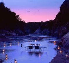 African Luxury Safari ~ dear God please allow me to be able to do things like this with the man you have prepared for me! Amen!