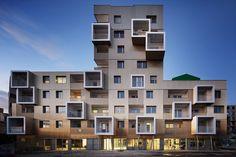 Wohnhaus Urban Dock in Bordeaux | Fassade | Wohnen | Baunetz_Wissen