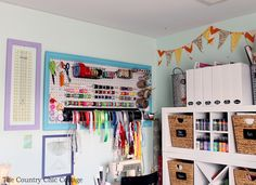 From clutter-free workshops to colorful craft rooms, these 18 snapshots of organizational bliss are worth not only admiring, but also re-creating in your own home.