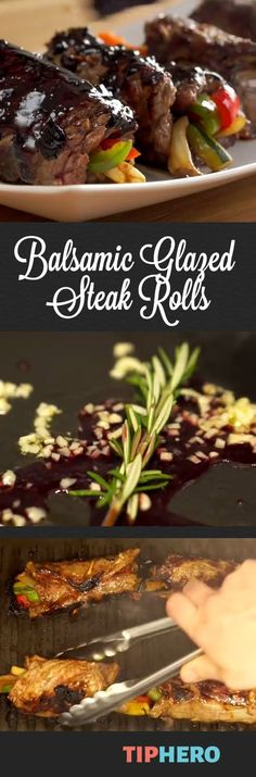 ... ! on Pinterest | Steak rolls, Flank steak and Mexican stuffed peppers