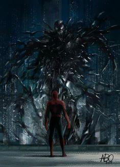 Spider-Man 2013 Did you get a chance to watch Venom in cinemas? Marvel Comics, Chibi Marvel, Venom Comics, Marvel Venom, Marvel Art, Marvel Heroes, Black Spiderman, Spiderman Art, Amazing Spiderman
