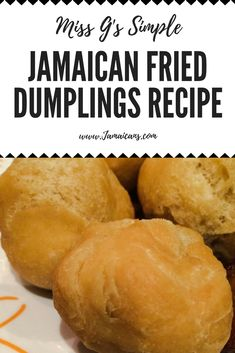 Miss Gs Simple Jamaican Fried Dumplings Recipe Johnny Cakes Jamaican Desserts, Jamaican Cuisine, Jamaican Dishes, Jamaican Recipes, Jamaican Appetizers, Asian Desserts, Jamaican Restaurant, Jamaican Rice, Carribean Food