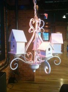 Chandelier Turned Bird House DIY | Thrift Town