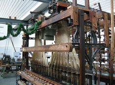 A beautiful vintage weaving loom