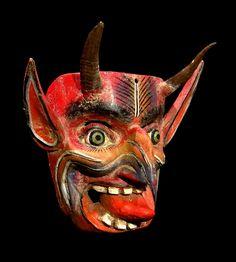 Diablo Mask, Guerrero, Mexico