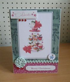 Inspiration | docrafts.com Christmas Cards, Merry Christmas, Christmas Inspiration, Handmade Cards, Projects To Try, Card Making, Frame, How To Make, Christmas E Cards